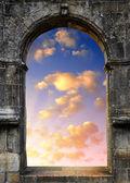 Gate to heaven — Stock Photo