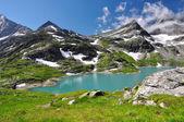 White Lake, no Parque Nacional Hohe Tauern — Fotografia Stock