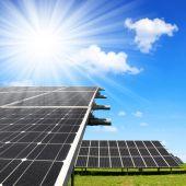 Solar energy panels — Стоковое фото