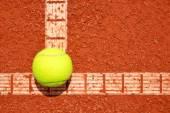 Tennis ball — Stock Photo