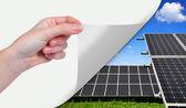 Solar energy panels — Stock Photo