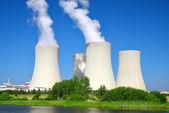 Jaderná elektrárna Temelín — Stock fotografie