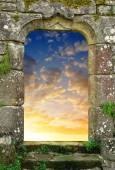Gate to heaven — Stock Photo