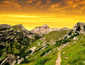 Julian Alps, Slovenia — Stock Photo