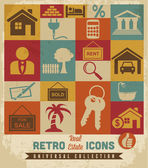 Real Estate icons set. — Stock Vector