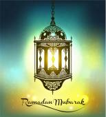Ramadan Mubarak Background. — Stock Vector