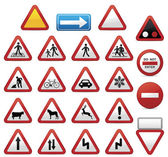 Road signs, set — Stock Vector