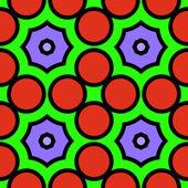 Colorful rectangular seamless ornament — ストックベクタ