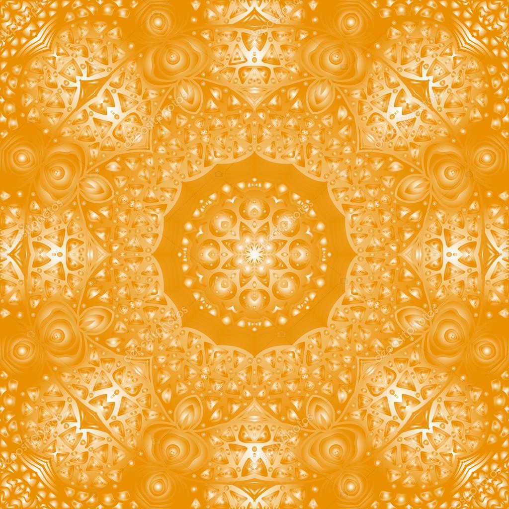 橙色长方形图案设计和背景