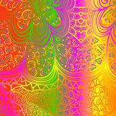 Quadrate multicolored pattern — Vector de stock