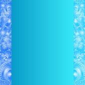 Quadratum cartão com ornamentos — Vetor de Stock