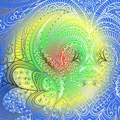 Quadrate varicolored pattern — Vecteur