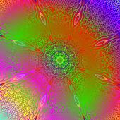 прямоугольные красочный орнамент — Cтоковый вектор