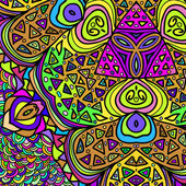 прямоугольные красочный узор — Cтоковый вектор