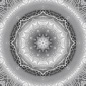 Quadrate black and white ornament — Stock Vector