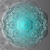 Quadrate gradient ornament — 图库矢量图片