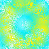 長方形のカラフルな飾り — ストックベクタ
