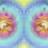 Quadrate varicolored pattern — Stock Vector