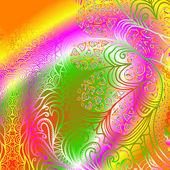 矩形的多彩装饰 — 图库矢量图片