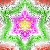 Retangular padrão colorido — Vetorial Stock