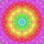 Rectangular colorful ornament — Vetorial Stock