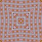 Pattern of Multicolored closeup cotton cloth pattern — Stock Photo