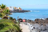 Tenerife coast — Stock Photo