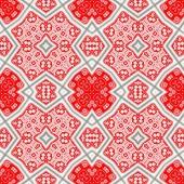 Red kaleidoscope — Stock Photo
