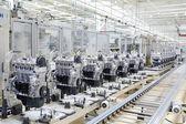 Engine manufacturing — Stock Photo