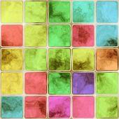 Piastrelle di vetro colorato — Foto Stock