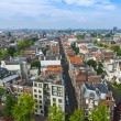 Amsterdam, Netherlands, on July 10, 2014. A view of the city from a survey platform of Westerkerk — Stock Photo #51916275