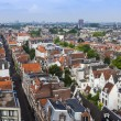 Amsterdam, Netherlands, on July 10, 2014. A view of the city from a survey platform of Westerkerk — Stock Photo #51916277
