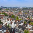 Amsterdam, Netherlands, on July 10, 2014. A view of the city from a survey platform of Westerkerk — Stock Photo #51916281
