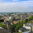 Amsterdam, Netherlands, on July 10, 2014. A view of the city from a survey platform of Westerkerk — Stock Photo #51916315