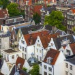 Amsterdam, Netherlands, on July 10, 2014. A view of the city from a survey platform of Westerkerk — Stock Photo #51917781
