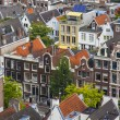 Amsterdam, Netherlands, on July 10, 2014. A view of the city from a survey platform of Westerkerk — Stock Photo #51917853