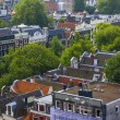 Amsterdam, Netherlands, on July 10, 2014. A view of the city from a survey platform of Westerkerk — Stock Photo #51917861