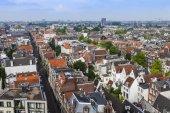 Amsterdam, hollanda, üzerinde 10 temmuz 2014. westerkerk anket platformu üzerinden kenti — Stok fotoğraf