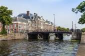 Haarlem, Netherlands, on July 11, 2014. A typical urban view — Stock Photo