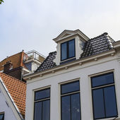 Haarlem, Netherlands, on July 11, 2014. Typical architectural details — Stock Photo