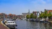 Haarlem, Netherlands, on July 11, 2014. A typical urban view — Photo