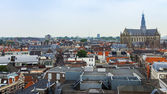 Haarlem, Netherlands, on July 11, 2014. View of the city from a survey terrace — Photo