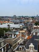 Haarlem, Netherlands, on July 11, 2014. View of the city from a survey terrace — Stock Photo