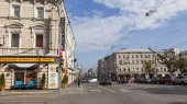 Moscow, Russia, on September 9, 2014. Typical city landscape — Stock Photo