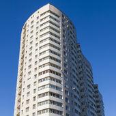 Pushkino, Russia, Architectural fragment of the house around a mass housing estate — Foto de Stock