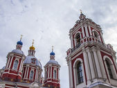 Moscow, Russia, on September 23, 2014. Architectural details of the orthodox temple — Foto Stock