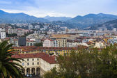Nice, France, on October 16, 2012. View of the city from a high point — Stock Photo
