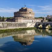 Rome, Italy, on October 10, 2012. Castle of the Sacred Angel — Stock Photo