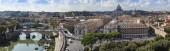 Roma, italia, el 10 de octubre de 2012. vista urbana típica — Foto de Stock