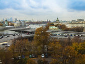 Moscow, Russia. A view from the window of the apartment — Stock Photo